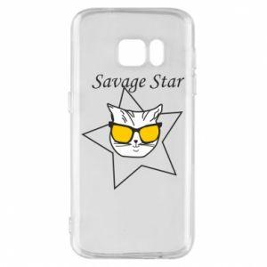 Etui na Samsung S7 Savage star