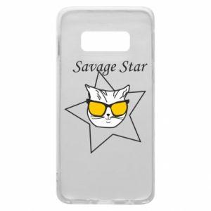 Etui na Samsung S10e Savage star