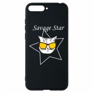 Etui na Huawei Y6 2018 Savage star