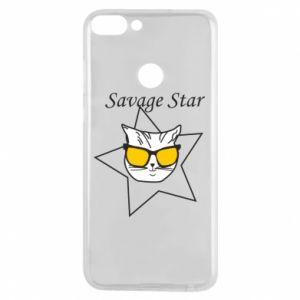 Etui na Huawei P Smart Savage star
