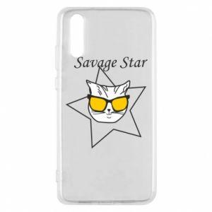 Etui na Huawei P20 Savage star