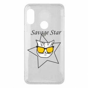 Etui na Mi A2 Lite Savage star