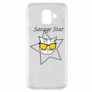 Etui na Samsung A6 2018 Savage star