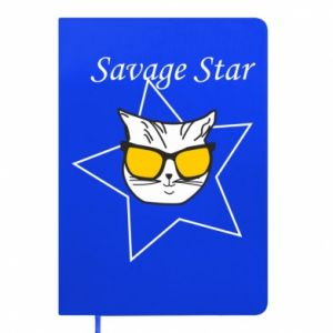 Notepad Savage star