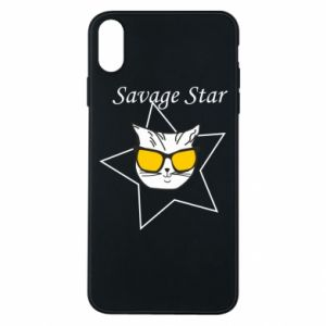 Etui na iPhone Xs Max Savage star