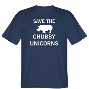 T-shirt Save the chubby unicorns