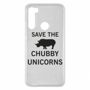 Etui na Xiaomi Redmi Note 8 Save the chubby unicorns