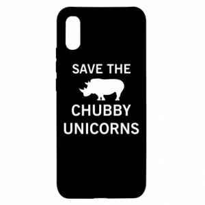 Xiaomi Redmi 9a Case Save the chubby unicorns