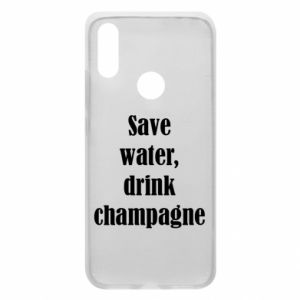 Phone case for Xiaomi Redmi 7 Save water, drink champagne