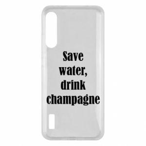 Xiaomi Mi A3 Case Save water, drink champagne