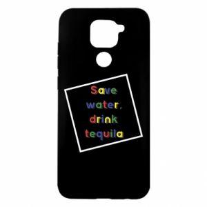 Xiaomi Redmi Note 9/Redmi 10X case Save water, drink tequila