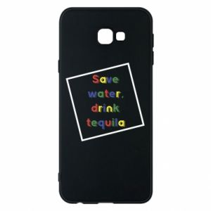 Phone case for Samsung J4 Plus 2018 Save water, drink tequila