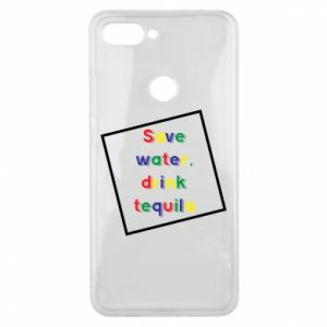 Phone case for Xiaomi Mi8 Lite Save water, drink tequila