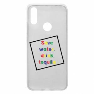 Phone case for Xiaomi Redmi 7 Save water, drink tequila