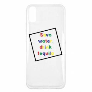 Xiaomi Redmi 9a Case Save water, drink tequila
