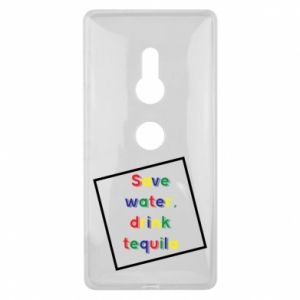 Sony Xperia XZ2 Case Save water, drink tequila