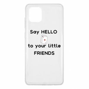 Etui na Samsung Note 10 Lite Say hello to your little friends