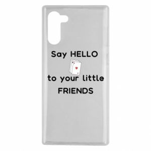Etui na Samsung Note 10 Say hello to your little friends