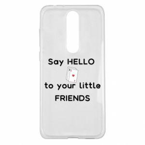 Etui na Nokia 5.1 Plus Say hello to your little friends