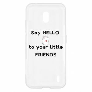 Etui na Nokia 2.2 Say hello to your little friends