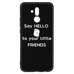 Etui na Huawei Mate 20 Lite Say hello to your little friends