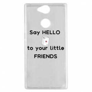 Etui na Sony Xperia XA2 Say hello to your little friends