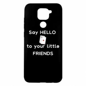 Etui na Xiaomi Redmi Note 9/Redmi 10X Say hello to your little friends