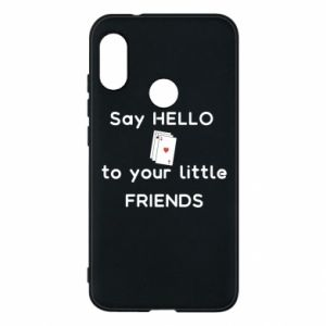 Etui na Mi A2 Lite Say hello to your little friends