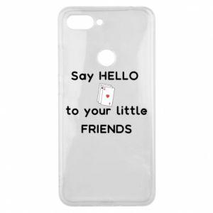 Etui na Xiaomi Mi8 Lite Say hello to your little friends