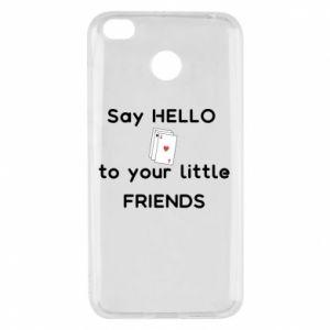 Etui na Xiaomi Redmi 4X Say hello to your little friends