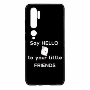 Etui na Xiaomi Mi Note 10 Say hello to your little friends