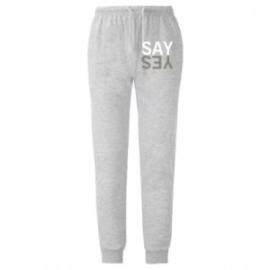 Męskie spodnie lekkie Say Yes