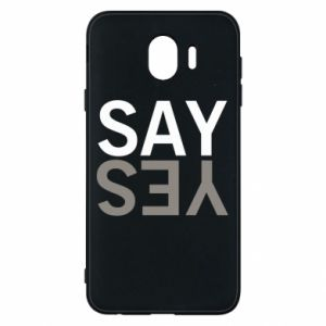 Etui na Samsung J4 Say Yes