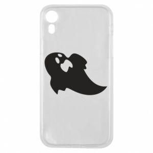 Etui na iPhone XR Scared ghost