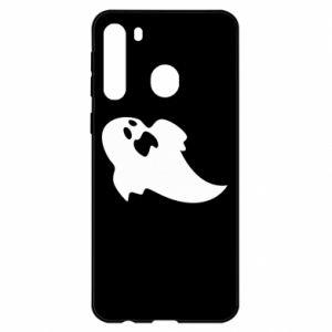 Etui na Samsung A21 Scared ghost