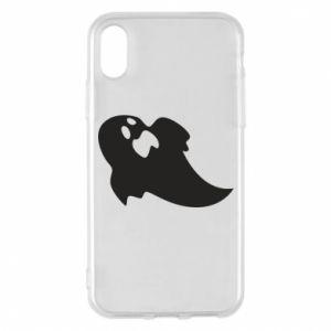 Etui na iPhone X/Xs Scared ghost