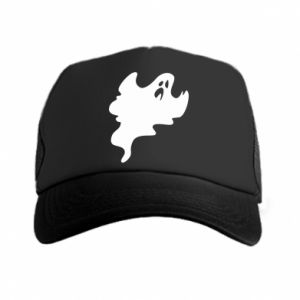 Trucker hat Scary ghost - PrintSalon