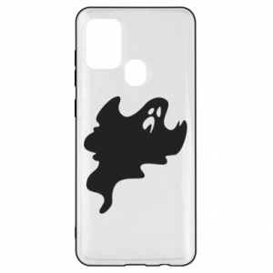 Etui na Samsung A21s Scary ghost