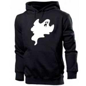 Men's hoodie Scary ghost - PrintSalon