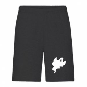 Men's shorts Scary ghost - PrintSalon