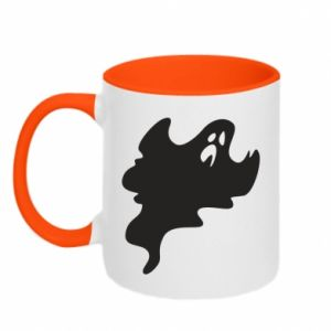 Two-toned mug Scary ghost - PrintSalon
