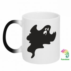 Chameleon mugs Scary ghost - PrintSalon