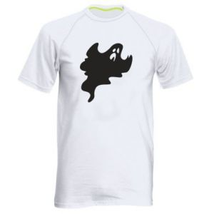 Men's sports t-shirt Scary ghost - PrintSalon
