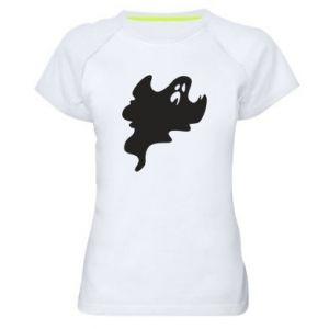 Damska koszulka sportowa Scary ghost
