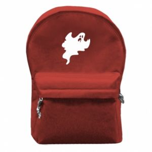 Backpack with front pocket Scary ghost - PrintSalon