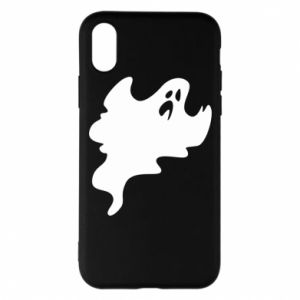 Phone case for iPhone X/Xs Scary ghost - PrintSalon