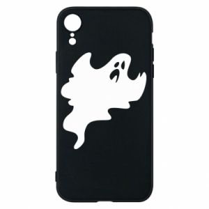 Phone case for iPhone XR Scary ghost - PrintSalon