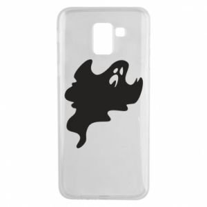 Phone case for Samsung J6 Scary ghost - PrintSalon