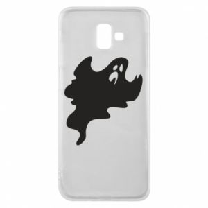 Phone case for Samsung J6 Plus 2018 Scary ghost - PrintSalon