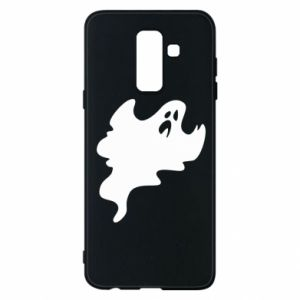Phone case for Samsung A6+ 2018 Scary ghost - PrintSalon